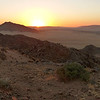 099 Sunset on Namib Desert