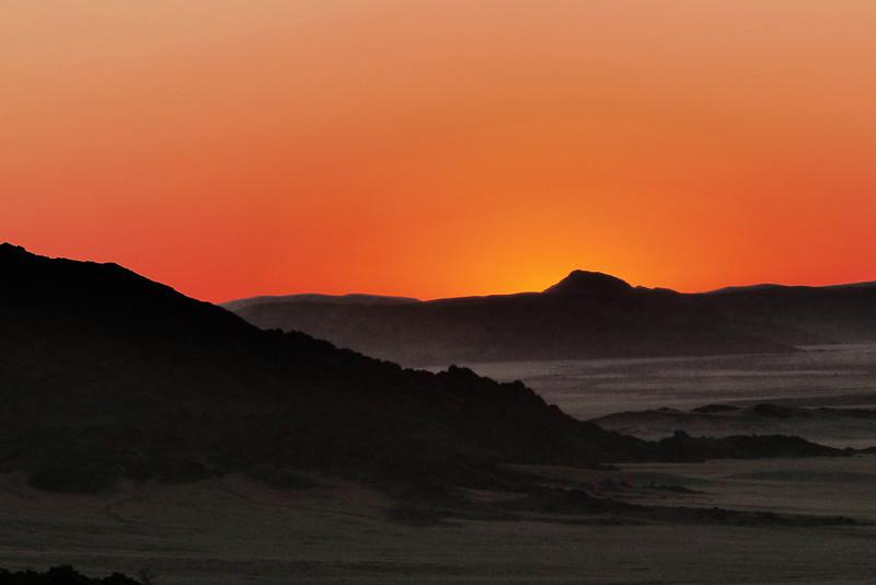 101 Sunset on Namib Desert