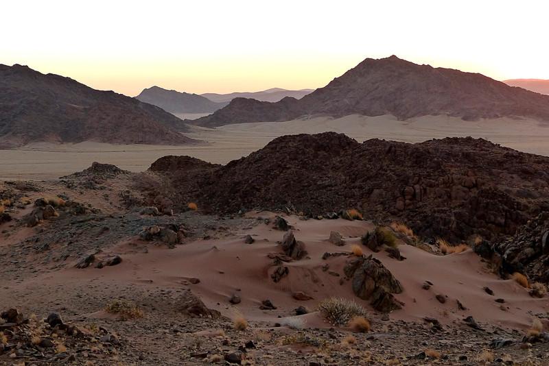 100 Sunset on Namib Desert
