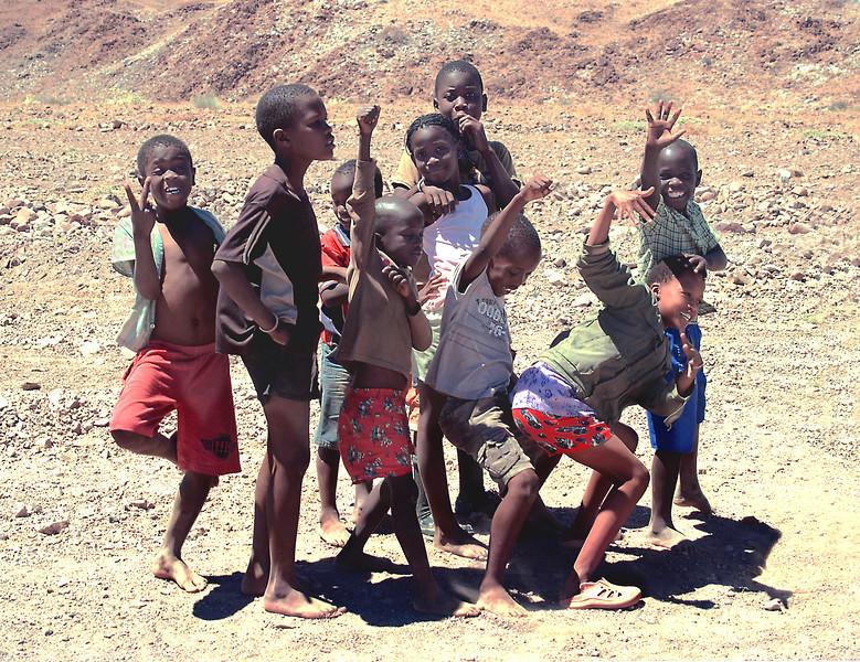 S.W.A.P.O.  kids,  Namibia.