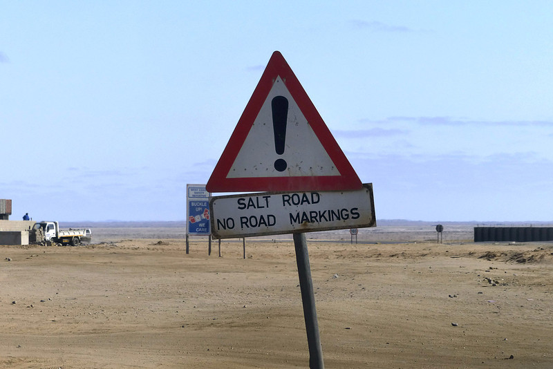 Road to Cape Cross, Namibia