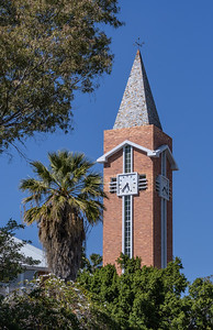 Steeple near the Namibian Parliament