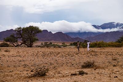 Namibian desert landscapes