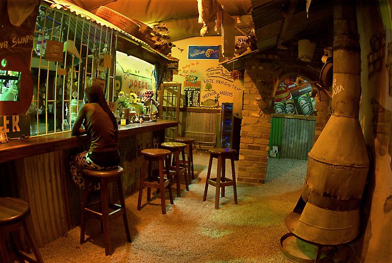 Namibian Township Bar  Namibia.
