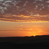 Sunset near Skeleton Coast camp
