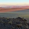 Sunset on Namib Desert