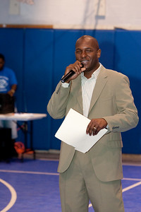 Fort Lauderdale City Commissioner Bobby B DuBose at Nan Knox Boys and Girls Club of Broward County