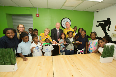 IKEA Senior Games Room Makeover Ribbon Cutting at the Nan Knox Boys and Girls Club of Broward County