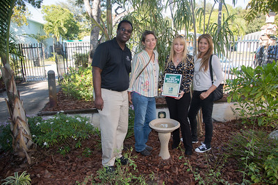 Fort Lauderdale Garden Club Charitible Gift to the Nan Knox Boys and Girls Club