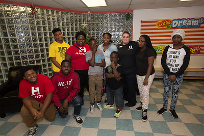 Forever Family Bella's Group 5th Annual Holiday Party at the Nan Knox Boys and Girls Club of Broward County