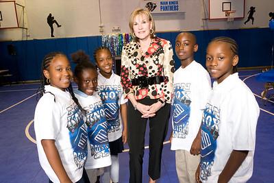 Linda Von Allmen with Nan Knox Boys and Girls