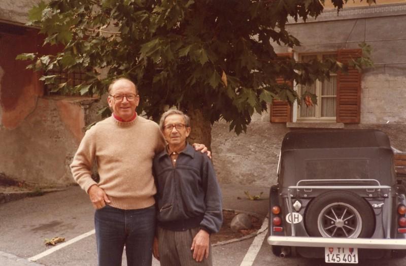 David & Claudio Lanotti in Someo, Switzerland
