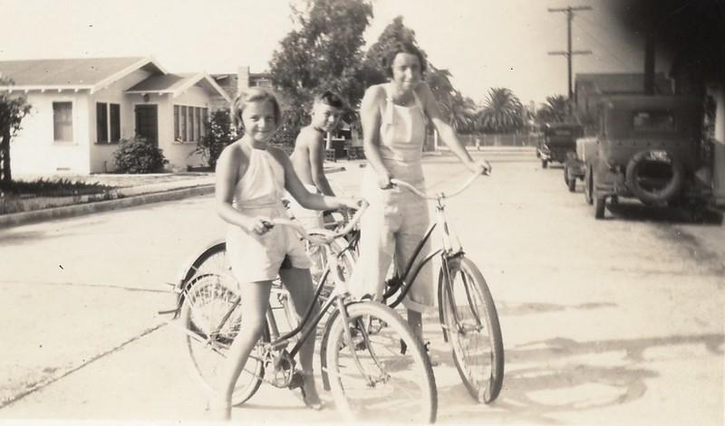 Bike riding on Balboa Peninsula