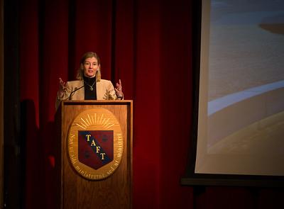 Rear Admiral Raymond F. DuBois endowed speaker Nancy Lindborg