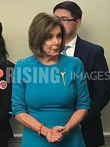 Nancy Pelosi at Press Conference in Washington, DC