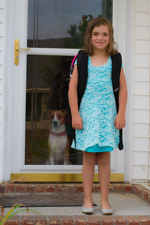 Nanette First Day of 3rd Grade