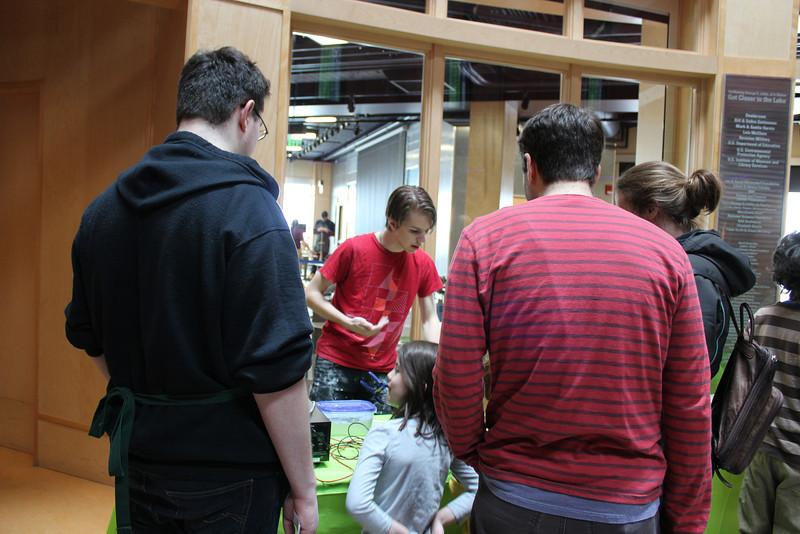 ECHO & University of Vermont Physics Department volunteers