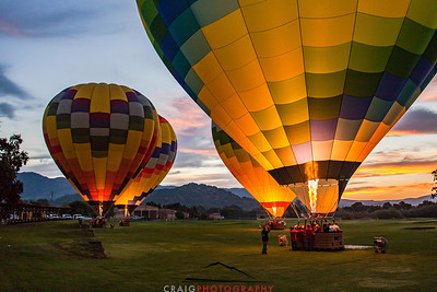 Balloons over Napa Valley #7