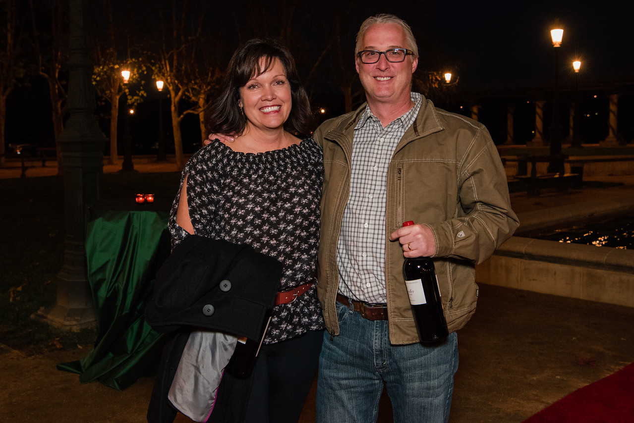 Leah Smith of Spring Mountain Vineyard and Mike Smith of Envy Wines