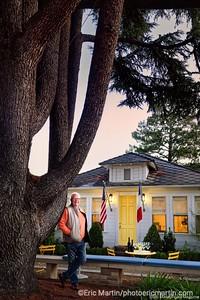 CALIFORNIE. NAPA VALLEY & SONOMA. Jean-Noel Fourmeaux, proprietaire de Chateau Potelle Winery