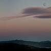 Conn Valley Moon and Clouds