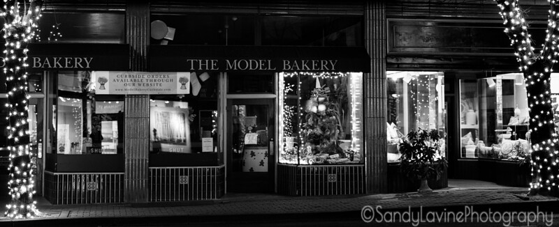 Model Bakery at Christmas