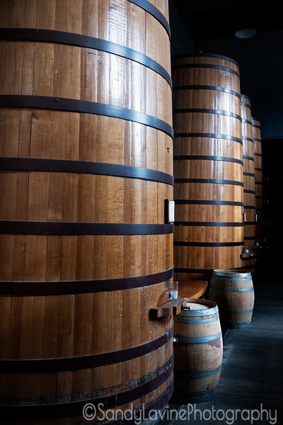 Clos Pegase Barrels