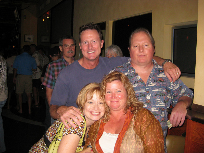 In back: &nbsp;&nbsp;Me, Jerry Waite<br>In front: &nbsp;&nbsp;My wife Cheri, Kathy Olsen-Ahern