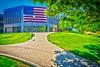 Flag at City Hall - 400 S. Eagle Street - Naperville, Illinois - Photo Taken: August 19, 2016