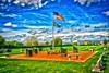 Veterans Memorial - Naperville City Cemetery - 705 S. Washington Street - Naperville, Illinois - Photo Taken: August 30, 2016