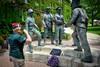 Veterans Valor - Shirley McWorter-Moss - Central Park - 104 E. Benton Avenue - Naperville, Illinois - Photo Taken: May 26, 2014