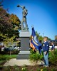 Spirit of the American Navy - E. M. Viquesney - Burlington Square - Naperville, Illinois - Photo Taken: October 13, 2013