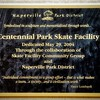 Centennial Skate Park - Naperville Riverwalk - 500 Jackson Avenue - Naperville, Illinois - Photo Taken: April 18, 2009