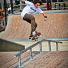 Centennial Skate Park - Naperville Riverwalk - 500 Jackson Avenue - Naperville, Illinois - Photo Taken: September 3, 2011