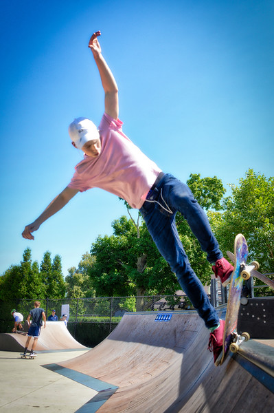 Centennial Skate Park - Naperville Riverwalk - 500 Jackson Avenue - Naperville, Illinois - Photo Taken: September 2, 2017