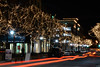 Night Lights on Main Street - Naperville, Illinois - Photo Taken: January 4, 2012