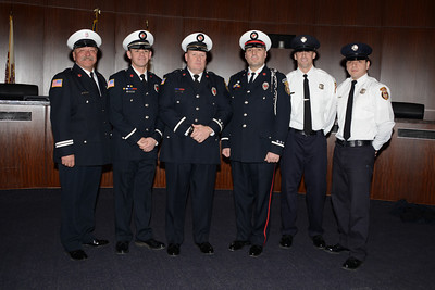 Naperville Fire Department Induction and Promotion Ceremony - December 13, 2013