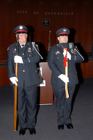 Naperville Fire Department - 2013 - Induction Ceremony