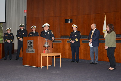 Naperville Fire Department - Naperville, Illinois - New Firefighter Induction Ceremony and Promotion Ceremony - September 17, 2015