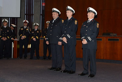 Naperville Fire Department - Naperville, Illinois - New Firefighter Induction and Promotion Ceremony - October 26, 2017