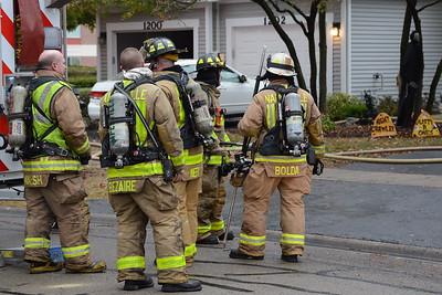Naperville Fire Department - Fire Scene - 1204 Tennyson Lane - 2015-10-24