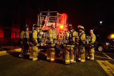 Naperville Fire Department - Fire Scene - 799 Royal Saint George - 02/20/2012