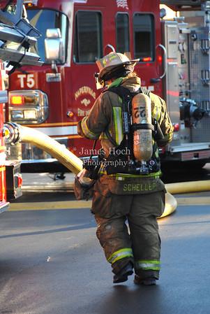 Naperville Fire Department - Fire Scene - 1912 Carlsbad - 11/28/2012