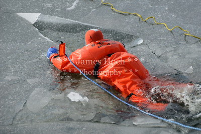 Naperville Fire Department - Ice Rescue Training - 02/15/2012