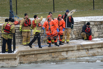 Naperville Fire Department - Ice Rescue Training - 02/14/2012