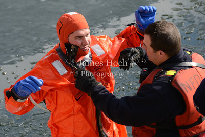 Naperville Fire Department - Ice Rescue Training - 02/16/2012