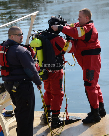 Naperville Fire Department - Water Rescue Training - 02/20/2012