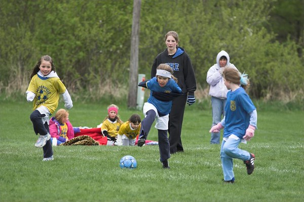 1st Grade Soccer April 23, 2006