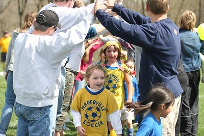 First Grade Soccer Apr 9, 2005