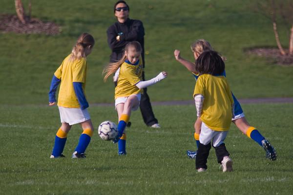 4th Grade Soccer 4/28/07